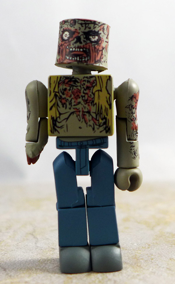Burned Zombie Loose Minimate (Walking Dead Wave 1)