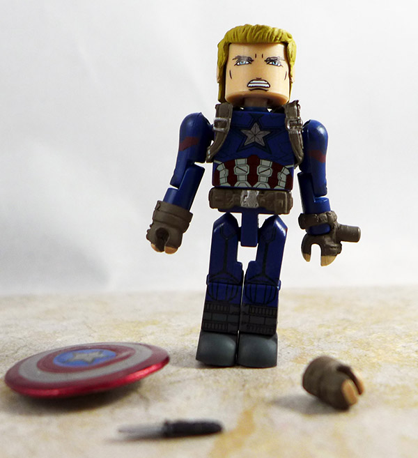 Cpatain America Partial Loose Minimate (Marvel Wave 66)