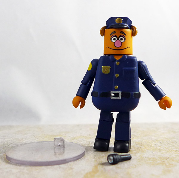 Fozzie Bear on Patrol Loose Minimate (Muppets Series 3)