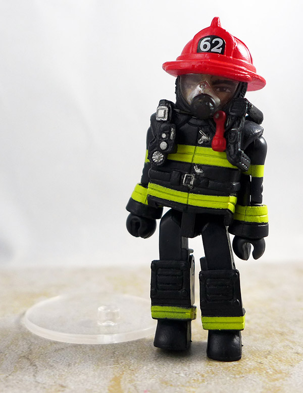 Fire Chief Max Partial Loose Minimate (2011 NYCC Firefigher Two Pack)