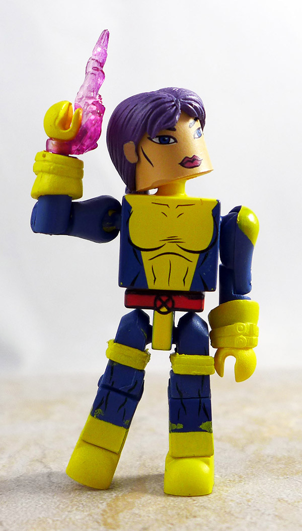 Strike Force Psylocke Custom Loose Minimate (Marvel Wave 60)