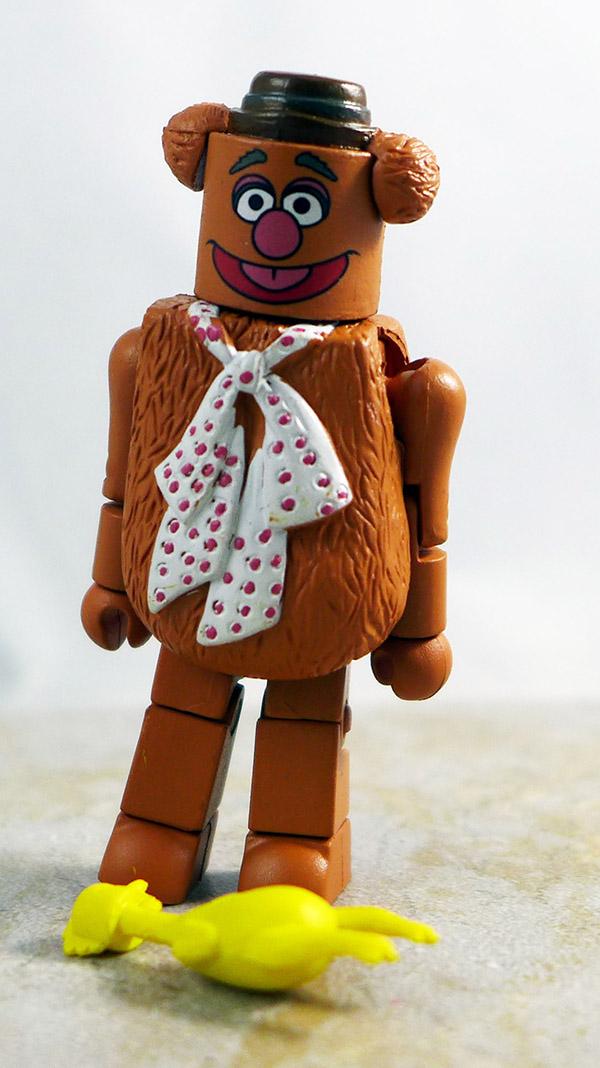 Fozzie Bear Loose Minimate (Muppets Series 1)