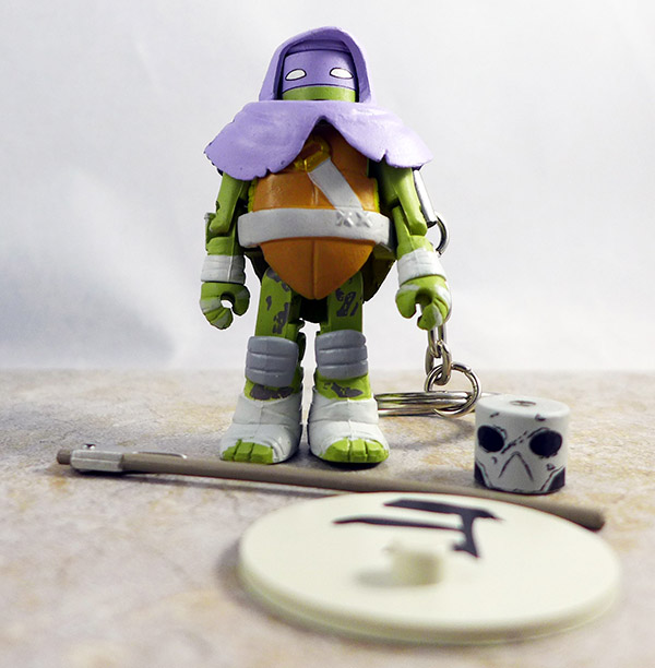 Vision Quest Donatello Loose Minimate (TMNT Series 3 Blind Bags)