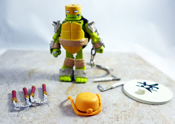 Vision Quest Michelangelo Loose Minimate (TMNT Series 3 Blind Bags)