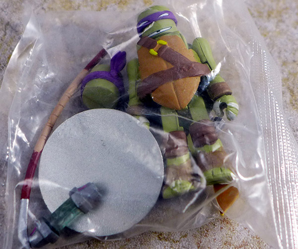 Sewer Donatello Loose Minimate (TMNT Series 2 Blind Bags)