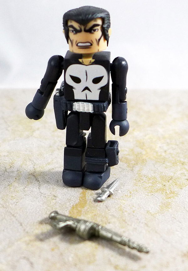 First Appearance Punisher Loose Minimate (Marvel TRU Wave 13)
