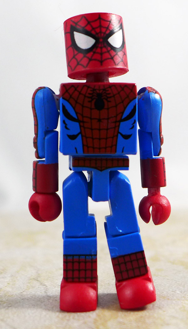 Spider-Man Partial Loose Minimate (Classic Heroic Age Box Set)