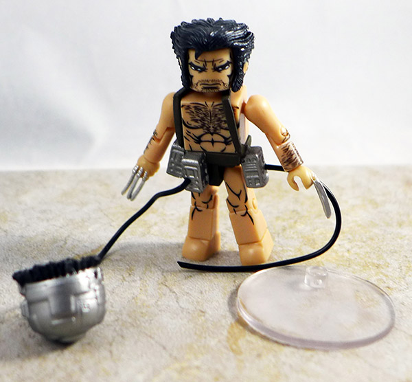 Weapon X Wolverine Loose Minimate (Marvel Wave 72)