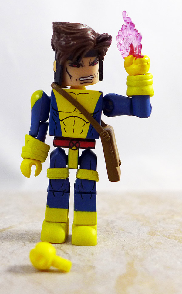 Strike Force Gambit Partial Loose Minimate (Marvel Wave 60)