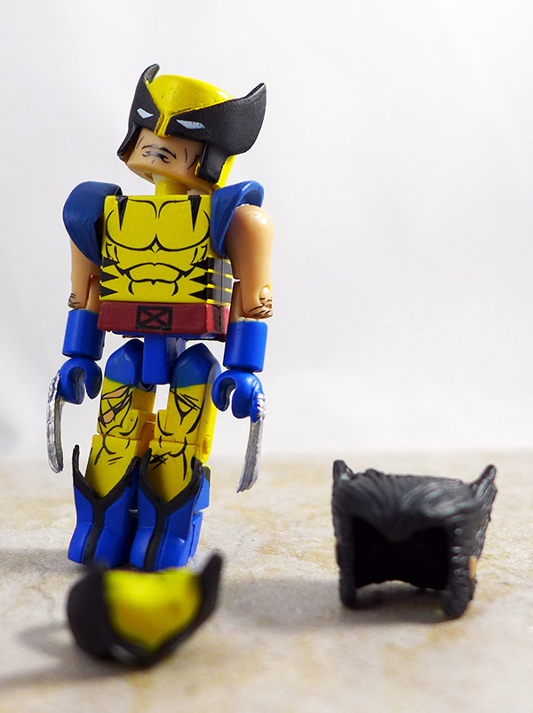 Wolverine Custom Loose Minimate (Marvel 'Best of