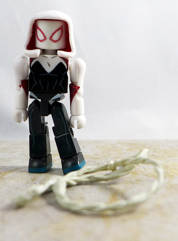 Spider-Gwen Partial Loose Minimate (Marvel TRU Wave 21)