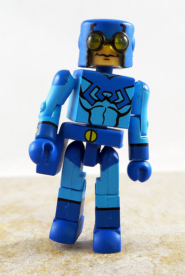 Blue Beetle Partial Loose Minimate (DC Minimates Series 2)