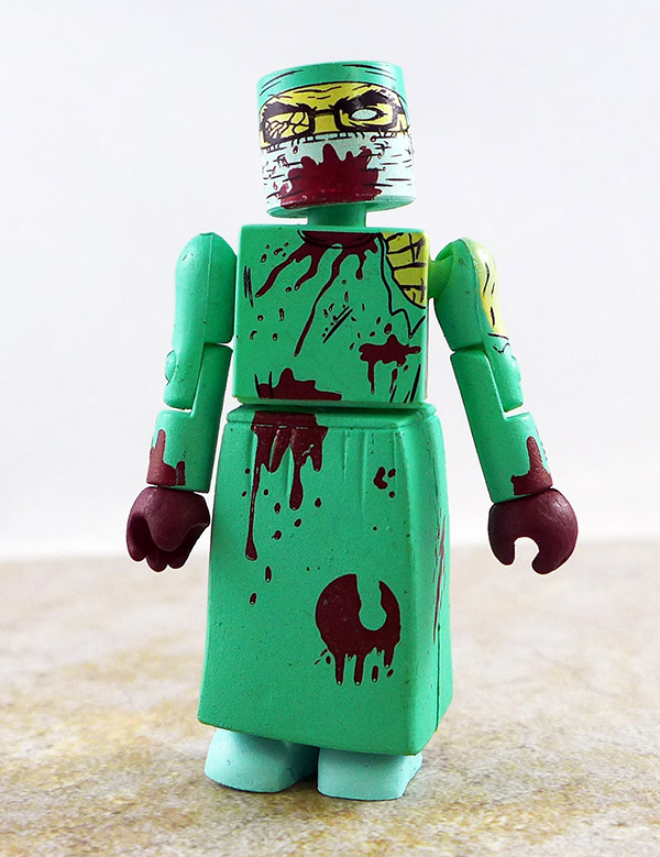 Zombie Surgeon Partial Loose Minimate (Maximum Zombie 2011 NYCC Exclusive Two Pack)