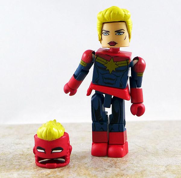 Captain Marvel Loose Minimate (Marvel Wave 64)
