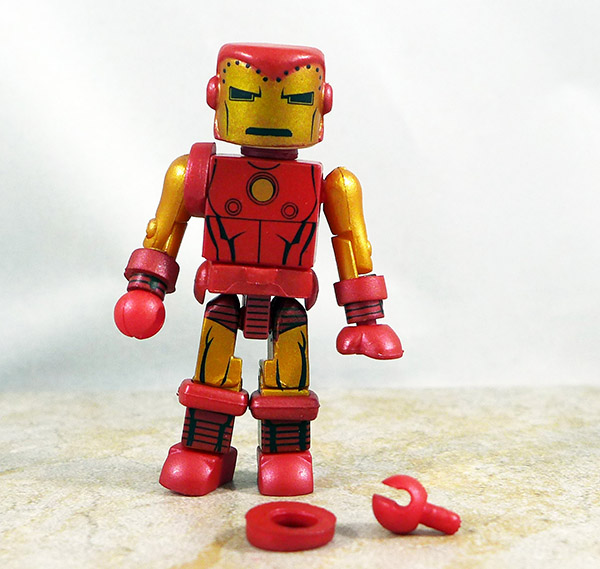 Bolt Face Iron Man Partial Loose Minimate (Marvel Wave 25)