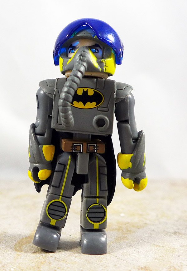Pilot Batman Repaint Loose Minimate (Stealth Batwing C3 Exclusive)