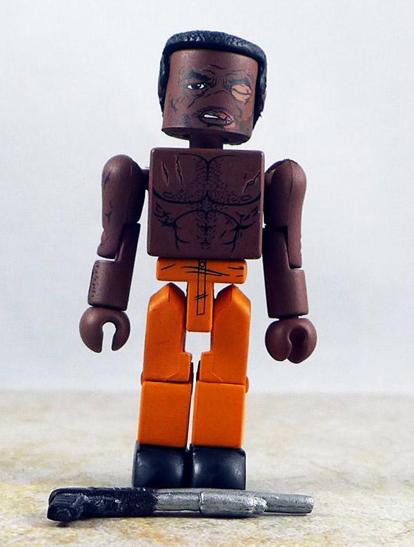 Battle Damaged Tyreese Loose Minimate (Walking Dead Wave 3)