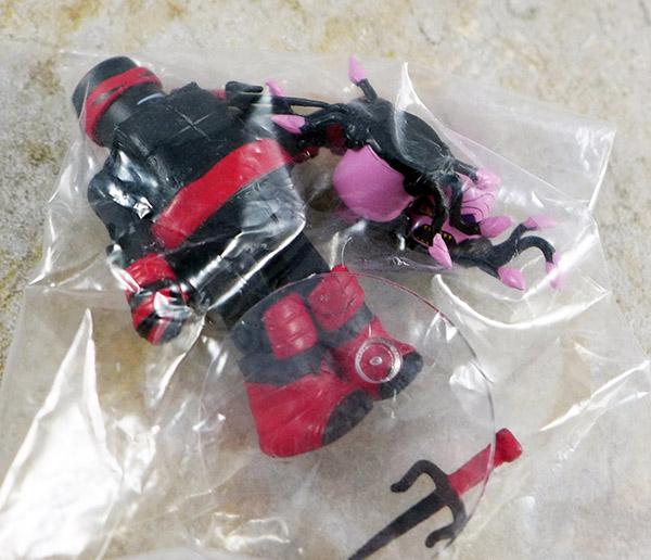 Dark Raphael Loose Minimate (TMNT Blind Bag Series 4)