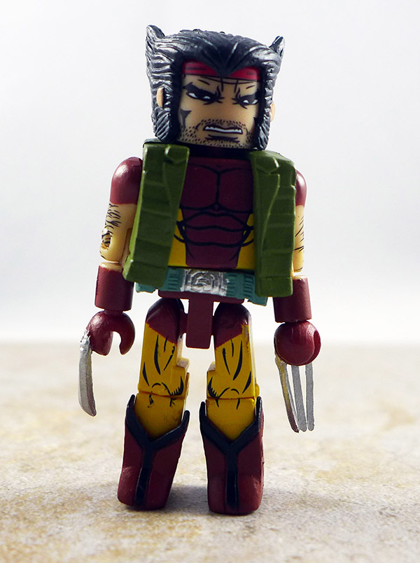 Tactical Wolverine Partial Loose Minimate (Marvel TRU Wave 23)