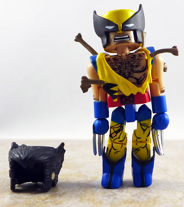 Ninja Attack Wolverine Loose Minimate (Marvel Wave 72)