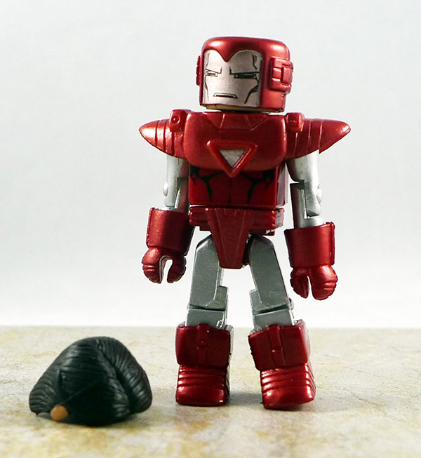 Silver Centurion Iron Man Loose Minimate (Marvel Wave 36)