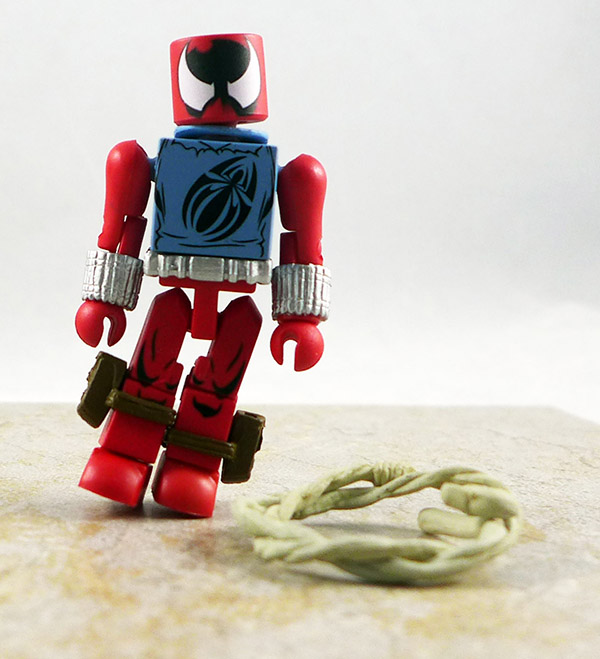 Scarlet Spider Partial Loose Minimate (Marvel TRU Wave 24)