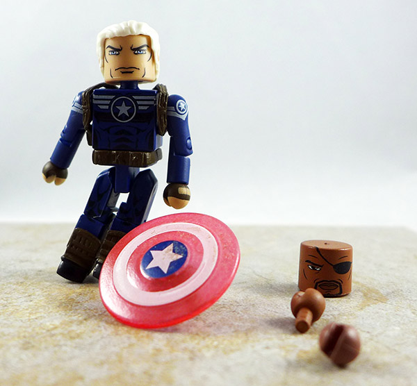 Old Man Steve Rogers Custom Loose Minimate