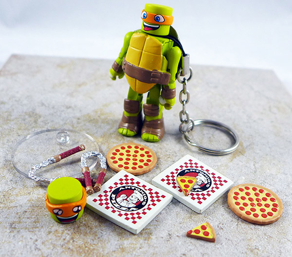 Pizza Party Michelangelo Loose Minimate (TMNT TRU Series 4)