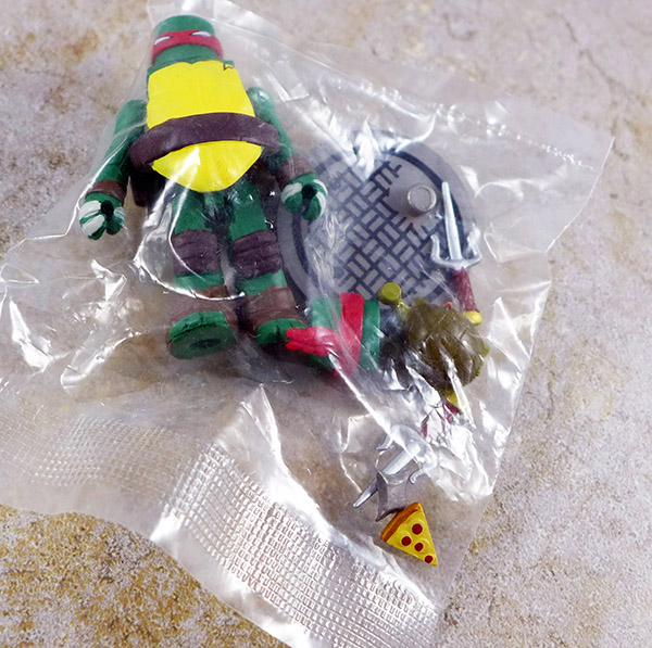 Sewer Raphael Loose Minimate (TMNT Blind Series 2)