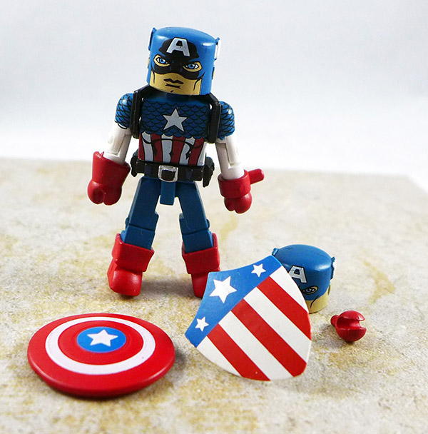 Captain America Loose Minimate (Invaders Box Set)